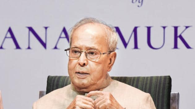 Former President Pranab Mukherjee had also tested positive for the coronavirus disease (Covid-19) at the time of his admission.(Sonu Mehta/HT PHOTO)