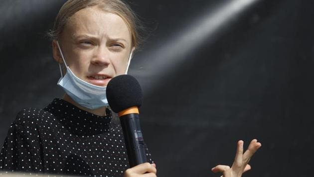 "Swedish founder of the ""School Strike for Climate"" movement Greta Thunberg(AFP)"