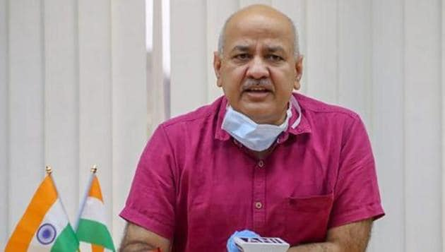 Delhi deputy CM Manish Sisodia urged the Centre to either postpone NEET and JEE exams or find an alternative way of conducting them.(PTI photo)