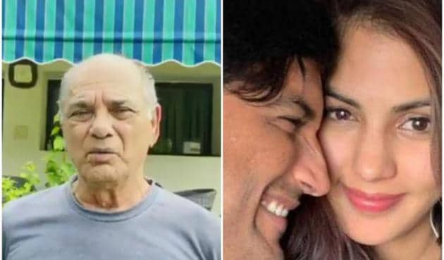 KK Singh has called Rhea Chakraborty the 'murderer' of his son, Sushant Singh Rajput.