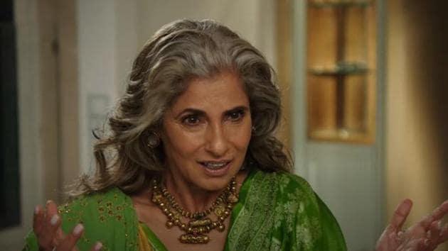 Dimple Kapadia plays a character named Priya in Christopher Nolan's Tenet.