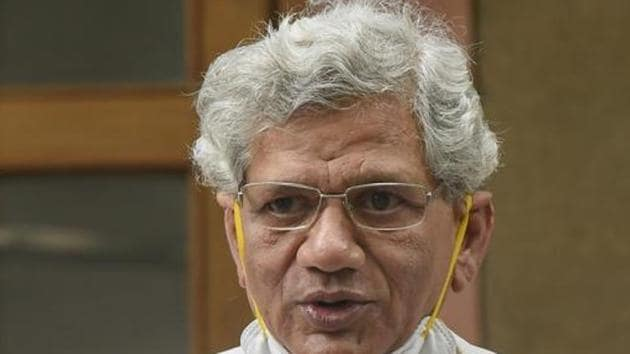 CPI (M) general secretary Sitaram Yechury told Hindustan Times that the party will take up the issue in Parliament.(PTI)