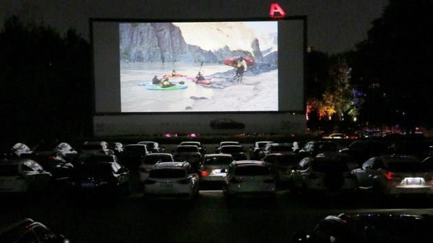 Experts feel drive-in theatres could be a big market in India, if things are planned properly(PHOTO: REUTERS)