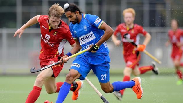 ANTWERP - 2019 Test Matches: India Belgium v India Photo: Akashdeep Singh WORLDSPORTPICS COPYRIGHT FRANK UIJLENBROEK(Frank Uijlenbroek)
