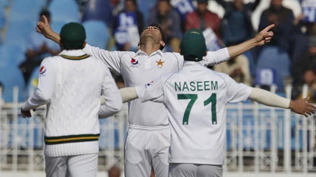 Pakistan pacer Shaheen Shah Afridi.(AP)