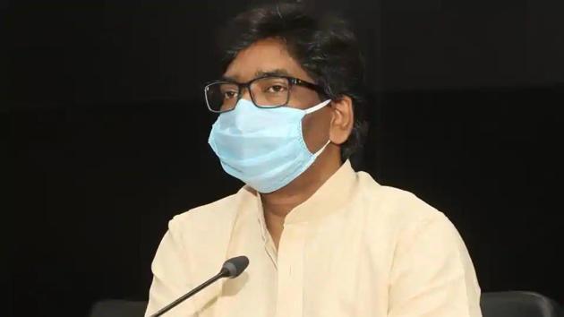 Jharkhand chief minister Hemant Soren.(HT file)