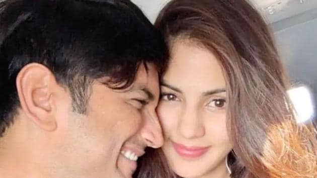 Rhea Chakraborty and Sushant Singh Rajput were in a relationship for over a year.