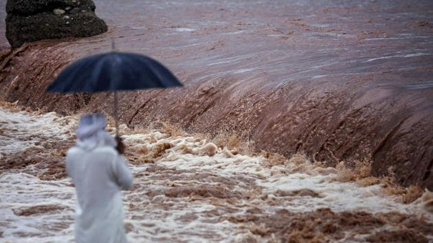 Officials on Thursday said the water level in major rivers and streams in the Jammu region is rising but there is no immediate threat of floods.(PTI file photo)