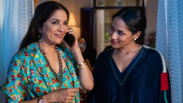 Masaba Masaba review: Neena Gupta and Masaba Gupta in a still from the new Netflix show.