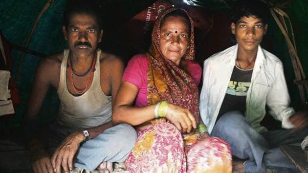 The middle-aged Nand Ram lives with his wife, Beni, and teenage son, Bablu, in Green Park, a genteel neighbourhood in South Delhi.(MA Soofi)