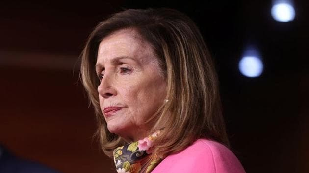 Democratic House of Representatives Speaker Nancy Pelosi said the sum President was willing to sign was not enough to meet the needs of the American people.(Reuters image)