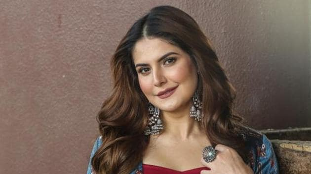 Actor Zareen Khan made her Bollywood debut with Veer in 2010.