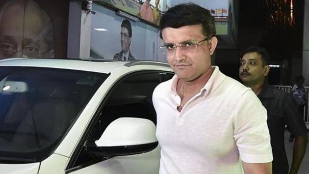 BCCI President Sourav Ganguly(PTI)