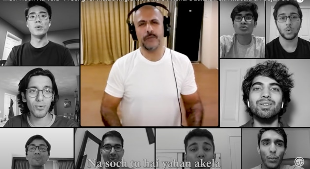 The song has alreadu achieved their target of raising Rs 20 lakh. They have now raised the target to Rs 25 lakh.(Photo:YouTube)