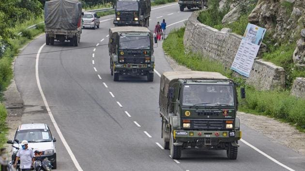 In a statement on the latest Chinese provocation, army spokesperson Colonel Aman Anand said on Monday that the PLA has violated the consensus reached during military and diplomatic engagements to reduce tension in eastern Ladakh, where the two armies have been locked in a tense confrontation since early May.(PTI)