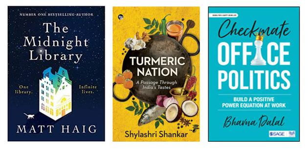 Alternate lives, food cultures, and office politics on the reading list this week.(HT Team)