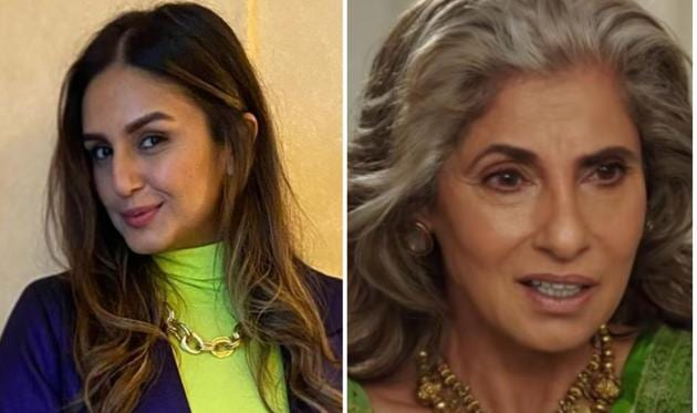 Huma Qureshi said that Dimple Kapadia's stellar performance in Tenet made her proud.