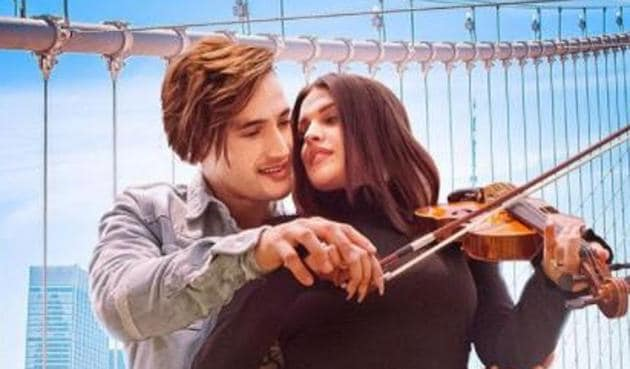 Asim Riaz and Himanshi Khurana pose for the new song's poster.
