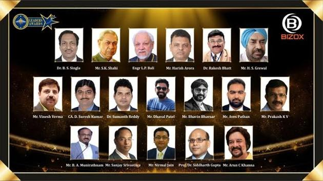 The winners of Leaders Awards(Business Wire India)