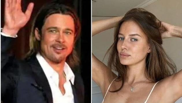 Brad Pitt reportedly met Nicole Poturalski while filming Once Upon a Time in Hollywood last year.