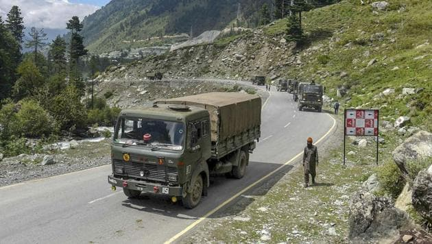 """A statement from the Indian Army said soldiers had pre-empted """"provocative military movements"""" by the Chinese People's Liberation Army (PLA) to change the status quo on the night of August 29-30.(PTI file photo)"""