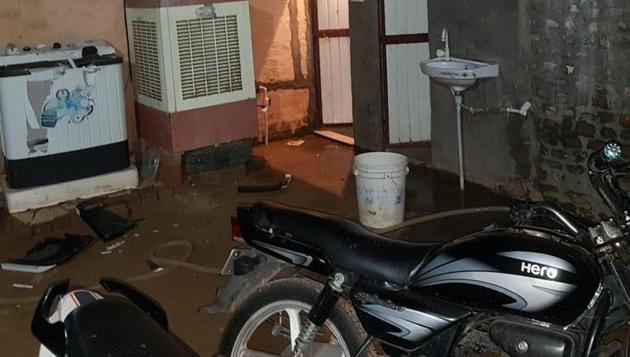 The crime spot in Fatehabad's Daiyar village.(HT PHOTO)