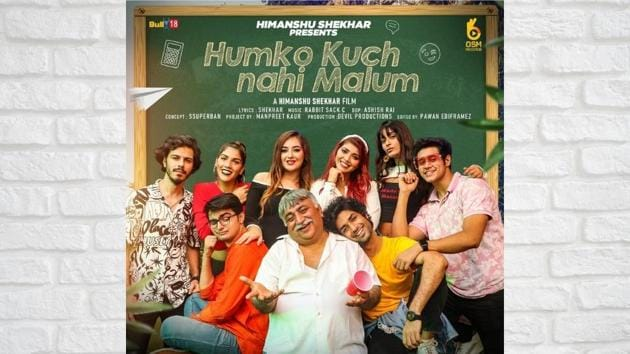 The song has an ensemble cast of young talent including Dhruv, Arshya, Misha, Anurima, Dalbir, Vikram, and Bhaway with Naresh Gosain, a leading name in the advertising industry.(Digpu)