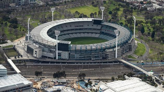An aerial view of the Melbourne Cricket Ground.(Getty Images)