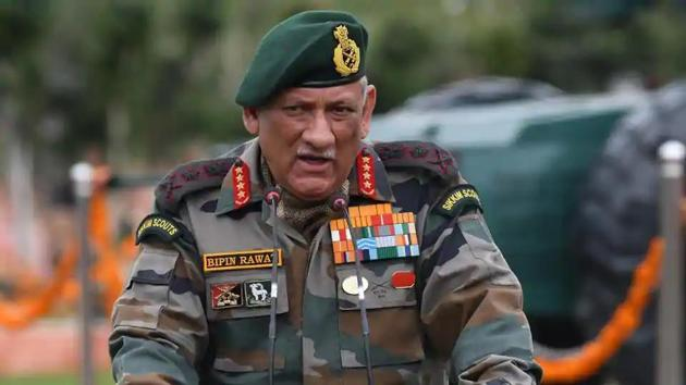 Chief of defence staff Bipin Rawat(ANI file photo)