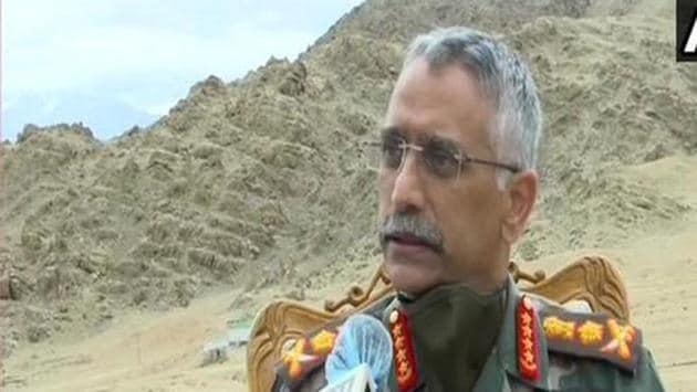 Indian Army Chief General MM Naravane.(ANI)