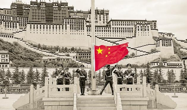 Potala Palace in Lhasa was the seat of His Holiness the Dalai Lama from 1648 to 1959.(REUTERS)