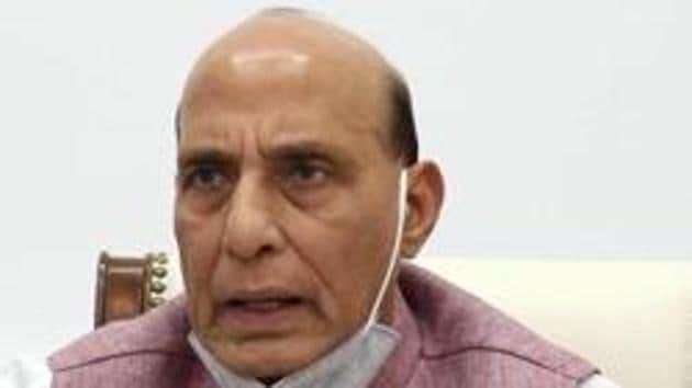 Rajnath Singh reached Moscow on Wednesday on a three-day visit to Russia to attend the combined meeting of Defence Ministers of Shanghai Cooperation Organisation (SCO).(ANI)