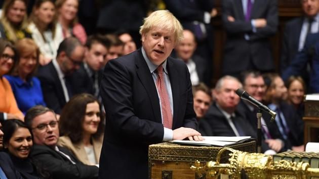 The merger as part of Johnson's post-Brexit idea of 'Global Britain' has attracted criticism, including from Labour, former prime minister David Cameron and former international development secretary Andrew Mitchell.(AFP FILE PHOTO.)