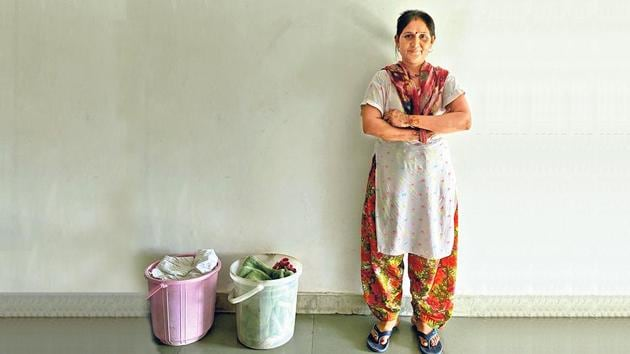 Kamni has been working as a housekeeper in Haus Khas for almost 20 years.(Mayank Austen Soofi)