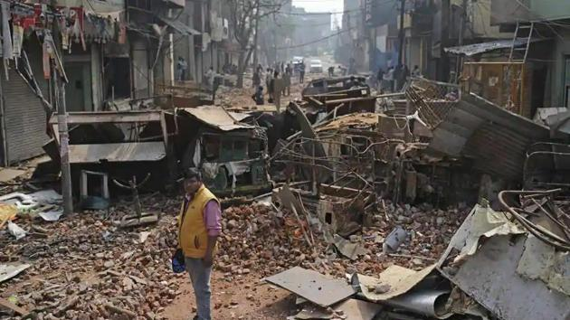 Delhi Police in their charge sheets before the court had said the riots were planned at the anti-CAA protest sites by some student leaders, activists and local politicians.(File photo)