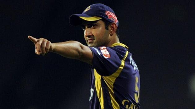 Gautam Gambhir led Kolkata Knight Riders to two IPL titles.(Getty Images)