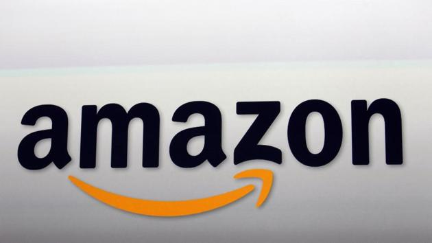 Amazon logo in Santa Monica, California. The latest announcement details Amazon's plan for the tony Eastside suburb, which will include leasing 2 million square feet at two towers that are both under construction.(AP)