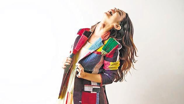 Showing fashion aficionados that stunning pieces can made be with old fabrics and textiles is what many designers are now vouching for.(Instagram)