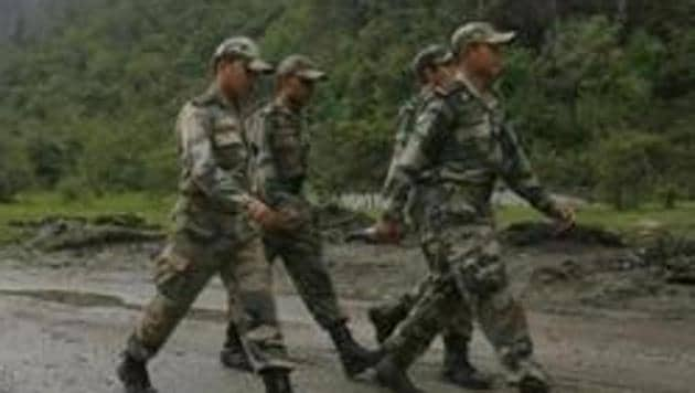 The Indian Army had contacted its Chinese counterpart about the five missing civilians, who were engaged as guides and porters by the army in the Upper Subansiri district on the Sino-India border, on Saturday.(REUTERS PHOTO.)