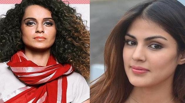 Kangana Ranaut has commented on Rhea Chakraborty's arrest.