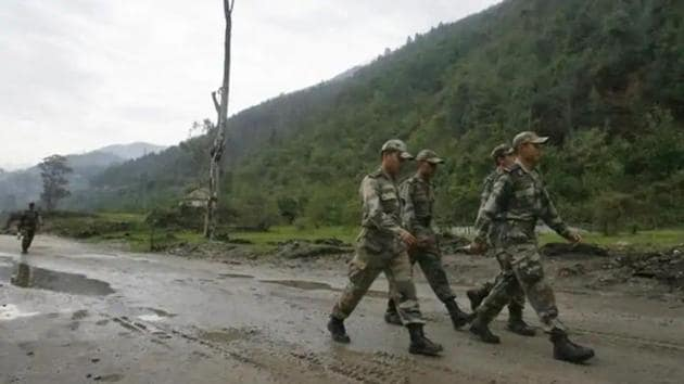 The army and ITBP joint exercise is aimed at thwarting any incursion bid and is underway near Hurling and Gayu villages in the Kaurik sector in Himachal Pradesh.(Reuters photo for representational purpose only)