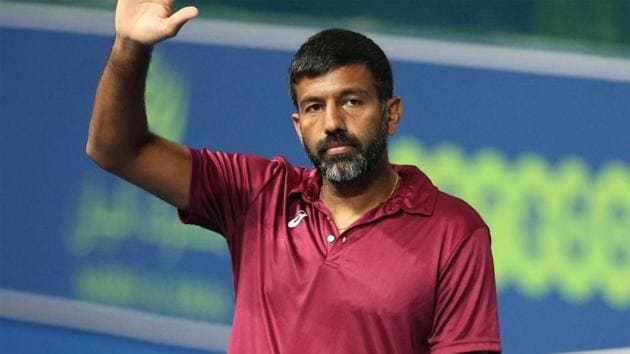 Rohan Bopanna and Denis Shapovalov lose in the quarterfinals.(Getty Images)