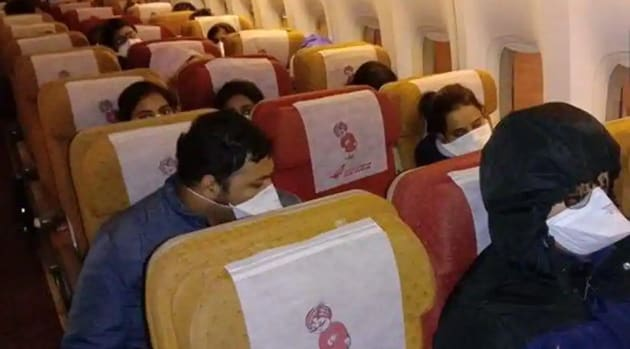 Most Indian students had returned from China y February because of the Covid-9 pandemic(ANI FILE PHOTO)