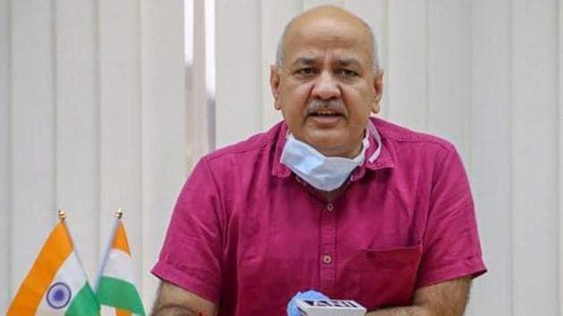 Delhi Deputy Chief Minister Manish Sisodia(PTI)