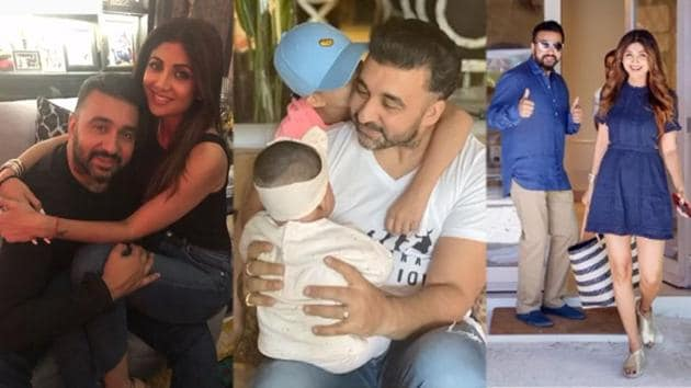 Shilpa Shetty has shared a video comprising some memorable pictures from her personal album.