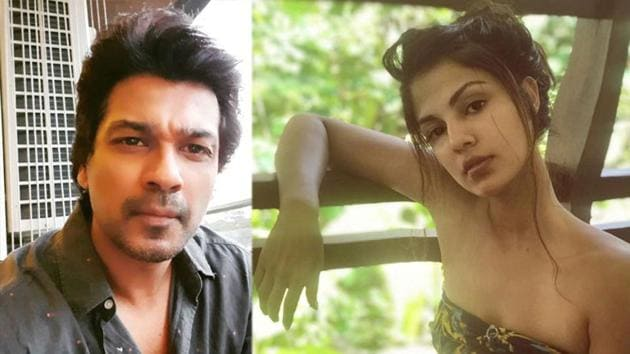 Producer Nikhil Dwivedi has expressed his wish to work with Rhea Chakraborty.
