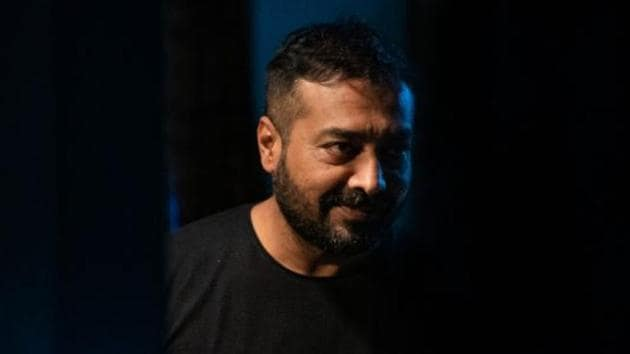 Anurag Kashyap on the set of his latest film Choked.