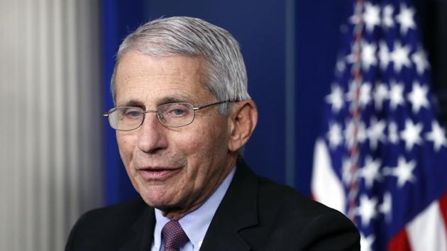Anthony Fauci said on Wednesday that AstraZeneca's decision to pause global trials of its experimental coronavirus vaccine was unfortunate(AP)
