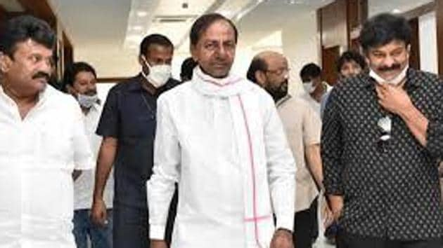 Chief minister K Chandrasekhar Rao introduced the Telangana Rights in Land and Pattadar Passbooks Bill 2020 and the Telangana Abolition of the Posts of Village Revenue Officers Bill 2020.(HT PHOTO.)