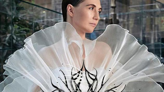 Iris's digital couture collection showcased at Paris Couture Week 2020(Instagram)